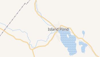 Island Pond, Vermont map