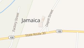 Jamaica, Vermont map