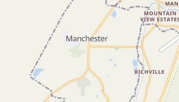 Manchester, Vermont map