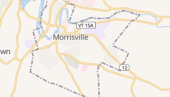Morrisville, Vermont map