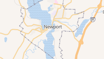 Newport, Vermont map