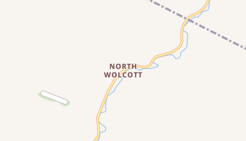 North Wolcott, Vermont map