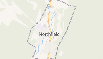 Northfield, Vermont map