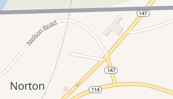 Norton, Vermont map