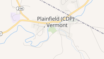 Plainfield, Vermont map