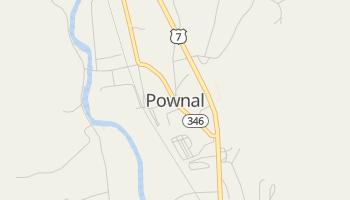Pownal, Vermont map