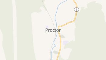 Proctor, Vermont map