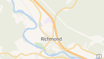 Richmond, Vermont map