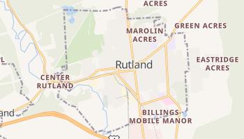 Rutland, Vermont map