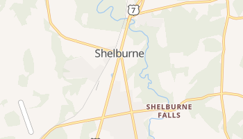 Shelburne, Vermont map
