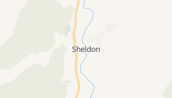 Sheldon, Vermont map