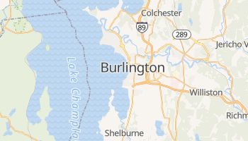 South Burlington, Vermont map