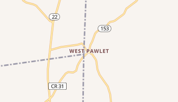 West Pawlet, Vermont map