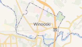 Winooski, Vermont map