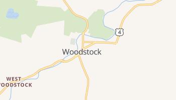 Woodstock, Vermont map