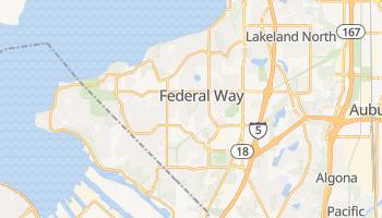 Federal Way, Washington map