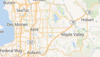 Kent, Washington map