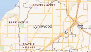Lynnwood, Washington map