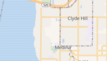 Medina, Washington map