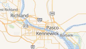 Pasco, Washington map