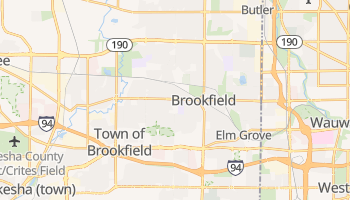 Brookfield, Wisconsin map