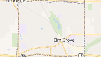 Elm Grove, Wisconsin map