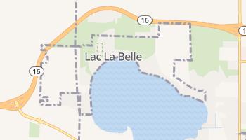 Lac La Belle, Wisconsin map