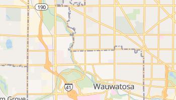 Wauwatosa, Wisconsin map
