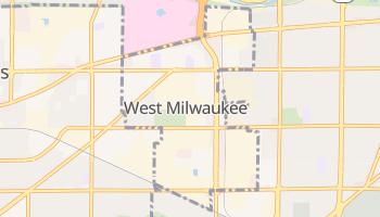 West Milwaukee, Wisconsin map