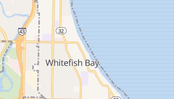 Whitefish Bay, Wisconsin map