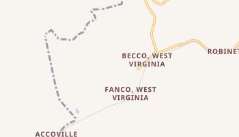 Amherstdale, West Virginia map