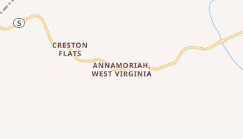 Annamoriah, West Virginia map