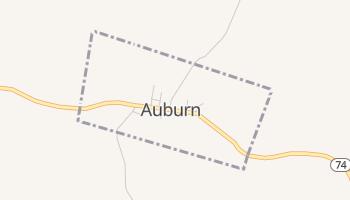 Auburn, West Virginia map