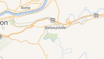 Barboursville, West Virginia map