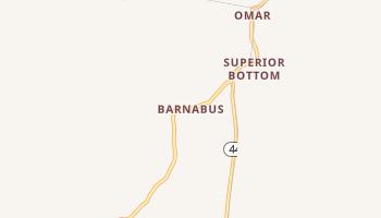 Barnabus, West Virginia map