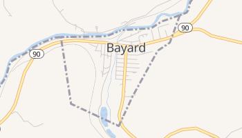 Bayard, West Virginia map