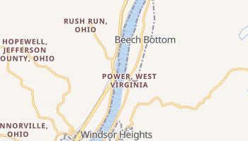 Beech Bottom, West Virginia map
