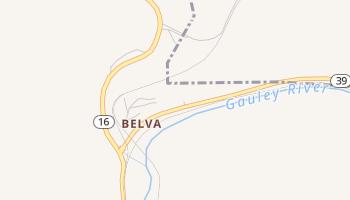 Belva, West Virginia map