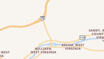Big Chimney, West Virginia map