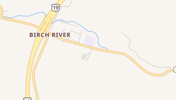 Birch River, West Virginia map