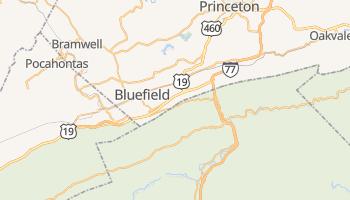 Bluefield, West Virginia map