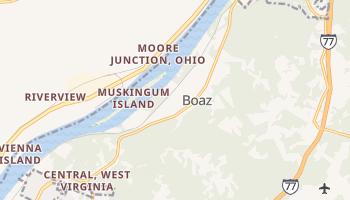 Boaz, West Virginia map