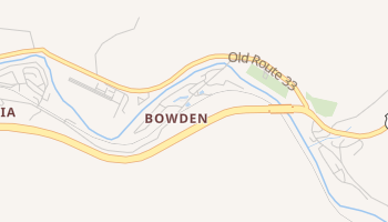 Bowden, West Virginia map