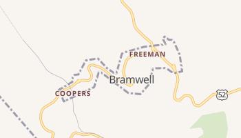 Bramwell, West Virginia map