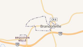 Brandonville, West Virginia map