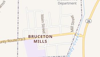 Bruceton Mills, West Virginia map