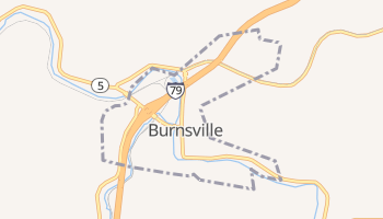 Burnsville, West Virginia map