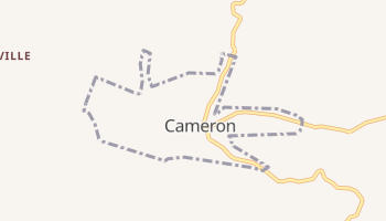 Cameron, West Virginia map