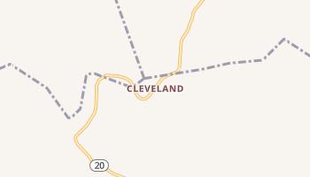 Cleveland, West Virginia map