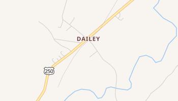 Dailey, West Virginia map
